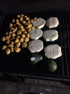 Cooking on our Grill Mats!